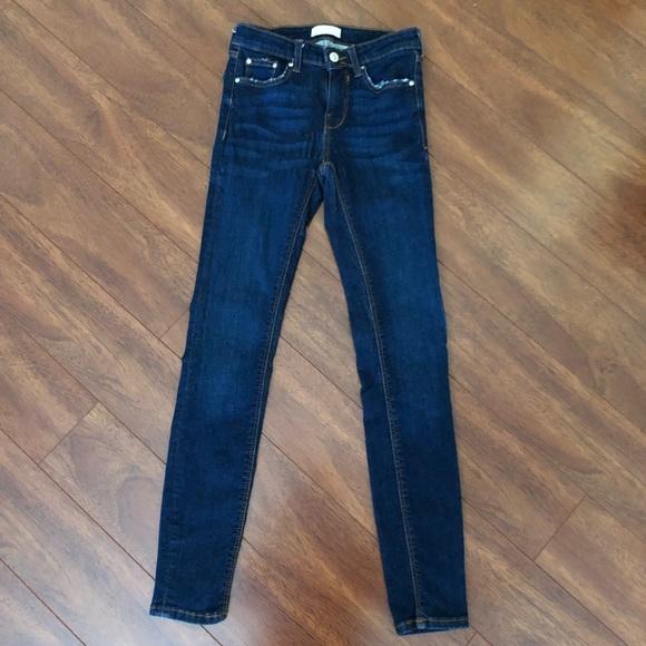 Zara Denim - Zara High Rise Skinny Jeans